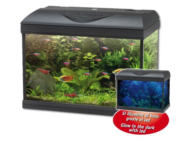 wave poseidon riviera 40 pro led aquarium komplettset. Black Bedroom Furniture Sets. Home Design Ideas