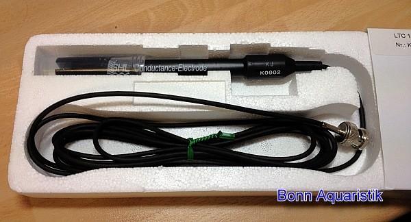 Leitwert-Elektrode Graphit, BNC, 3m Kabel, für Süsswasser