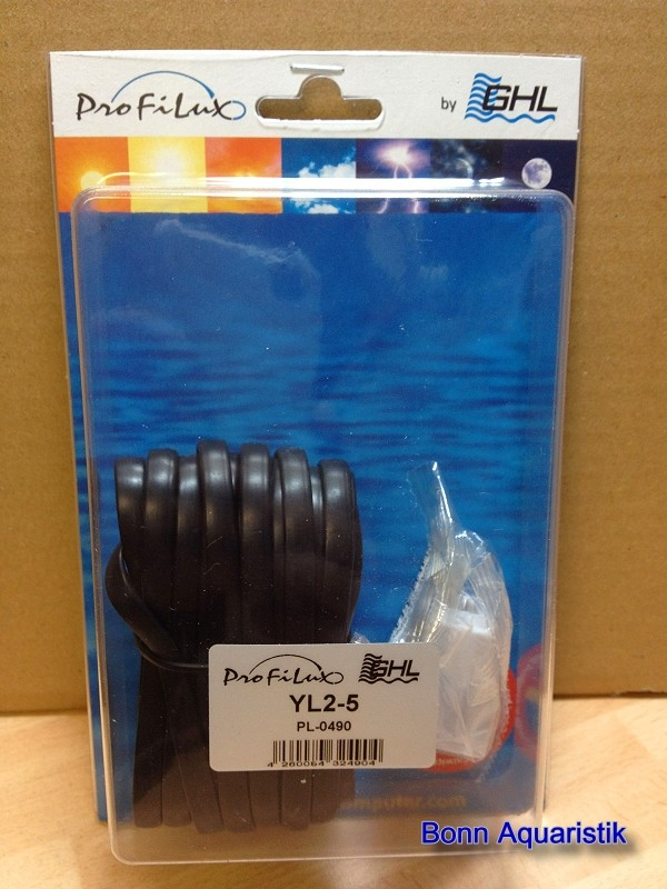 PL-0490 Verteiler, Kabel 5m zum Anschluss von 2 Leuchten an eine Buchse