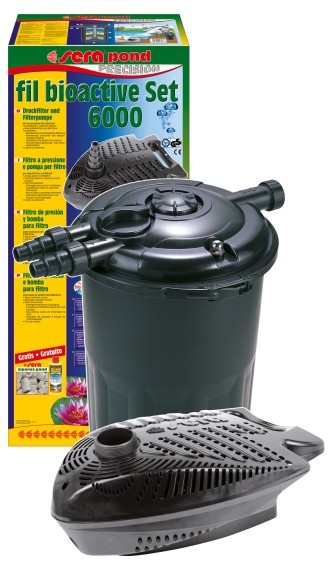 pond fil bioactive Druckfilter Set 6000